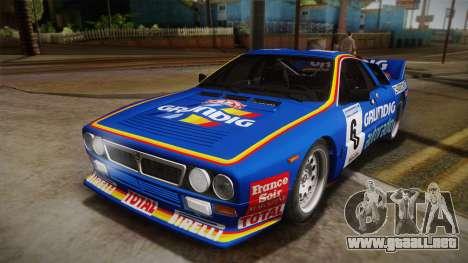 Lancia Rally 037 Stradale (SE037) 1982 Dirt PJ3 para la visión correcta GTA San Andreas