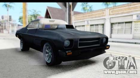 Holden Monaro 1972 Nightrider para la visión correcta GTA San Andreas