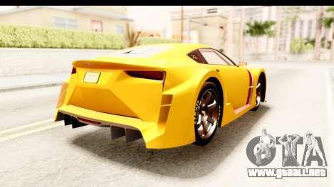 GTA 5 Emperor ETR1 IVF para la visión correcta GTA San Andreas