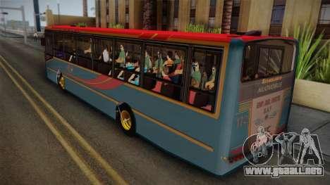 Nuovobus MB OF1418 Linea 302 para GTA San Andreas left