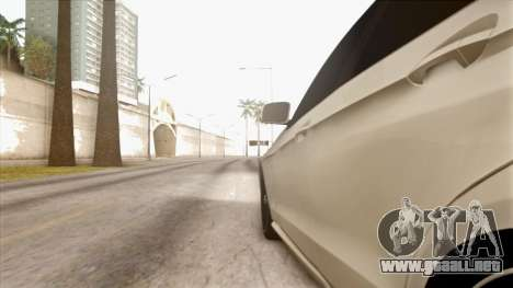 Mercedes-Benz E63 v.2 para vista inferior GTA San Andreas