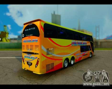 Metalsur Starbus II CRUCERO DEL NORTE para GTA San Andreas left