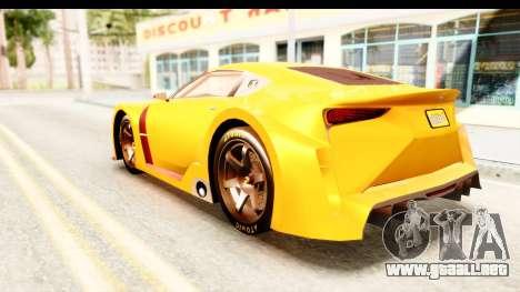 GTA 5 Emperor ETR1 IVF para GTA San Andreas left