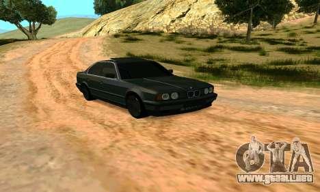 BMW 535i E34 para la visión correcta GTA San Andreas