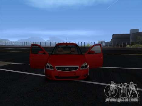 VAZ 2170 STANCE para vista inferior GTA San Andreas