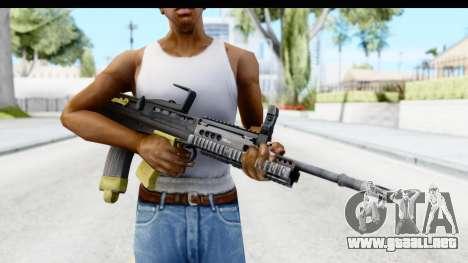L85 para GTA San Andreas tercera pantalla