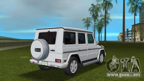 Mercedes-Benz G500 W463 2008 para GTA Vice City visión correcta
