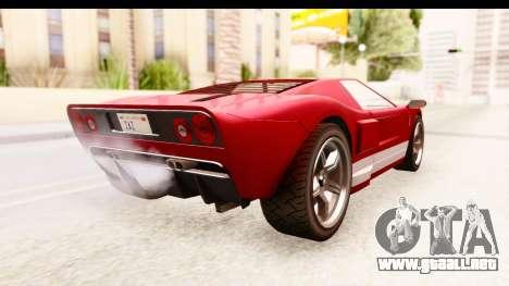 GTA 4 TboGT Bullet para GTA San Andreas left