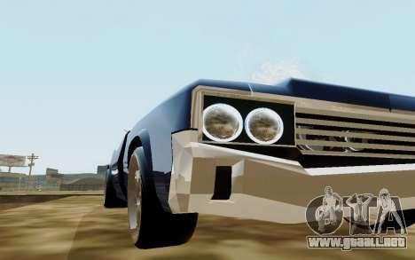 HD Sabre Greedy para la visión correcta GTA San Andreas
