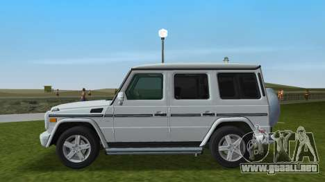 Mercedes-Benz G500 W463 2008 para GTA Vice City left