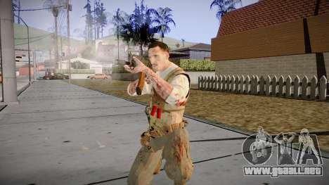 Black Ops 3 - Edward Richtofen para GTA San Andreas sucesivamente de pantalla
