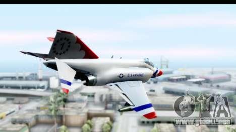 F-4 Phantom II Thunderbirds para la visión correcta GTA San Andreas