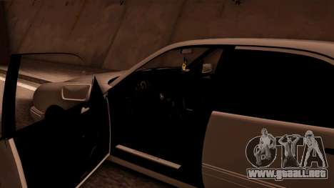 Mercedes-Benz E420 para visión interna GTA San Andreas