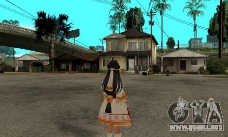 Ara Sakra Devanam (Elsword) para GTA San Andreas segunda pantalla