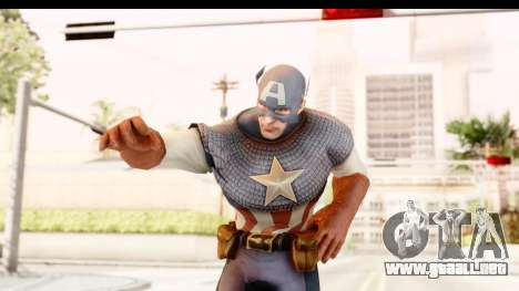 Marvel: Ultimate Alliance 2 - Captain America para GTA San Andreas