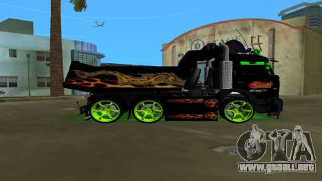 KAMAZ 65115 TUNING para GTA Vice City left