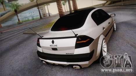Renault Megan para GTA San Andreas left