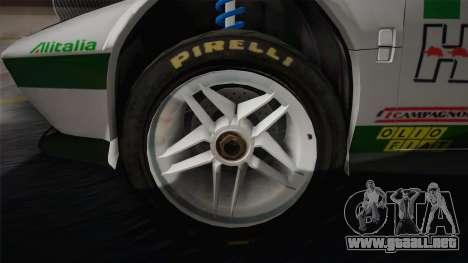Lancia Stratos para visión interna GTA San Andreas