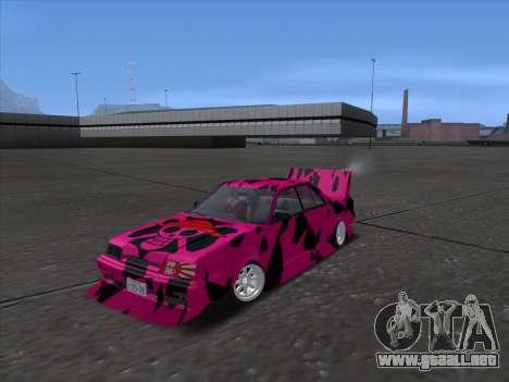 Toyota Supergt para GTA San Andreas