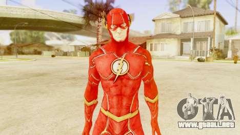 Injustice God Among Us Flash New 52 Edited Model para GTA San Andreas tercera pantalla