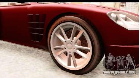 GTA EFLC TBoGT F620 v2 IVF para GTA San Andreas vista hacia atrás