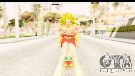 Dragon Ball Xenoverse Broly SSJ3 para GTA San Andreas segunda pantalla