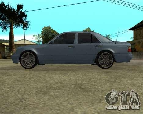 Mersedes-Benz E-500 Armenian para vista inferior GTA San Andreas