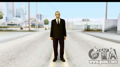 Will Smith MIB para GTA San Andreas segunda pantalla