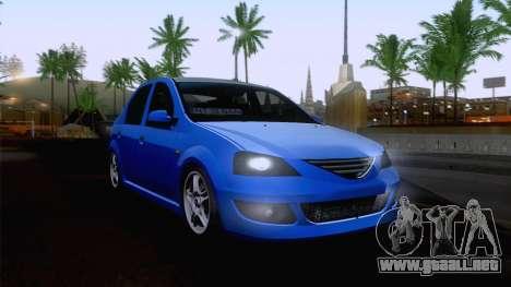 Dacia Logan Cocalar Edition para GTA San Andreas