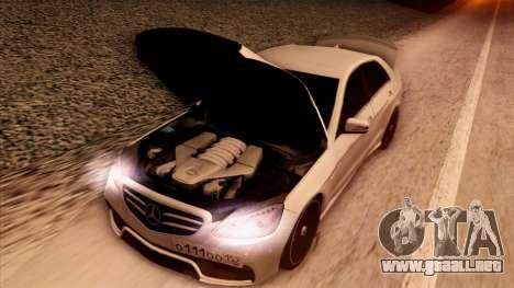 Mercedes-Benz Е63 para la vista superior GTA San Andreas
