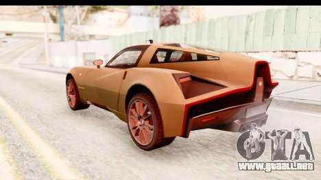 Spada Codatronca TS para GTA San Andreas left