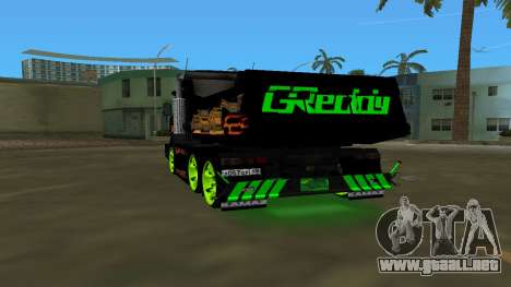 KAMAZ 65115 TUNING para GTA Vice City vista lateral izquierdo