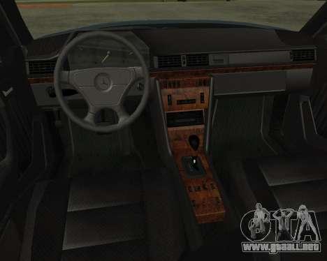 Mersedes-Benz E-500 Armenian para la visión correcta GTA San Andreas
