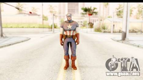 Marvel: Ultimate Alliance 2 - Captain America para GTA San Andreas segunda pantalla