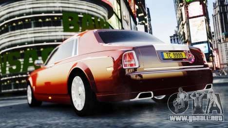 Rolls-Royce Phantom EWB 2013 para GTA 4 left