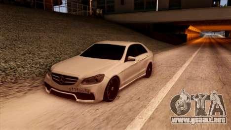 Mercedes-Benz Е63 para GTA San Andreas