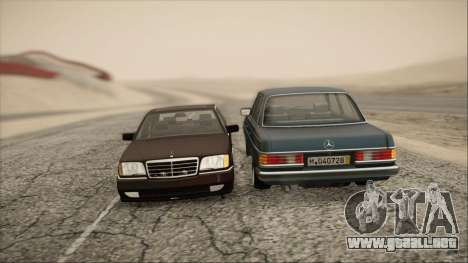 Mercedes-Benz 240D para la visión correcta GTA San Andreas