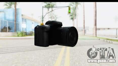 Nikon D600 para GTA San Andreas