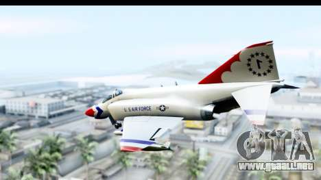 F-4 Phantom II Thunderbirds para GTA San Andreas left