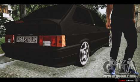 VAZ 2113 para vista lateral GTA San Andreas