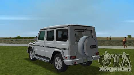 Mercedes-Benz G500 W463 2008 para GTA Vice City vista lateral izquierdo
