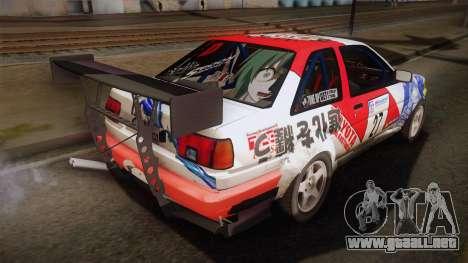 Toyota AE86 2 Door Levin para GTA San Andreas left