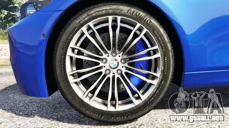 BMW M5 (F10) 2012 [replace] para GTA 5