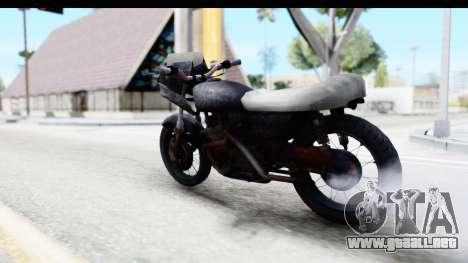 Kawasaki KZ900 1973 Mad Max 2 para GTA San Andreas left