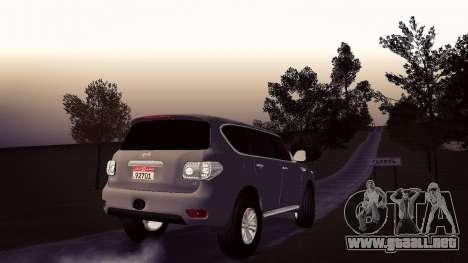 Nissan Patrol para GTA San Andreas left