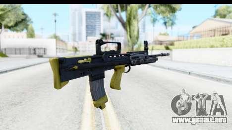L85 para GTA San Andreas segunda pantalla