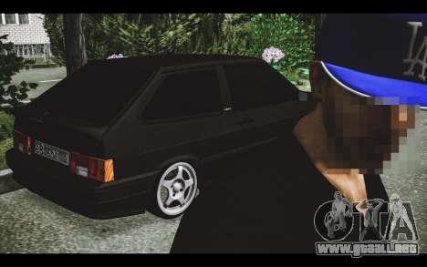 VAZ 2113 para la vista superior GTA San Andreas