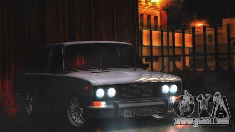 VAZ 2106 Steele para GTA San Andreas left