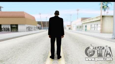 Will Smith MIB para GTA San Andreas tercera pantalla
