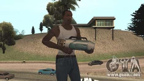 Spudgun from Bully SE para GTA San Andreas quinta pantalla